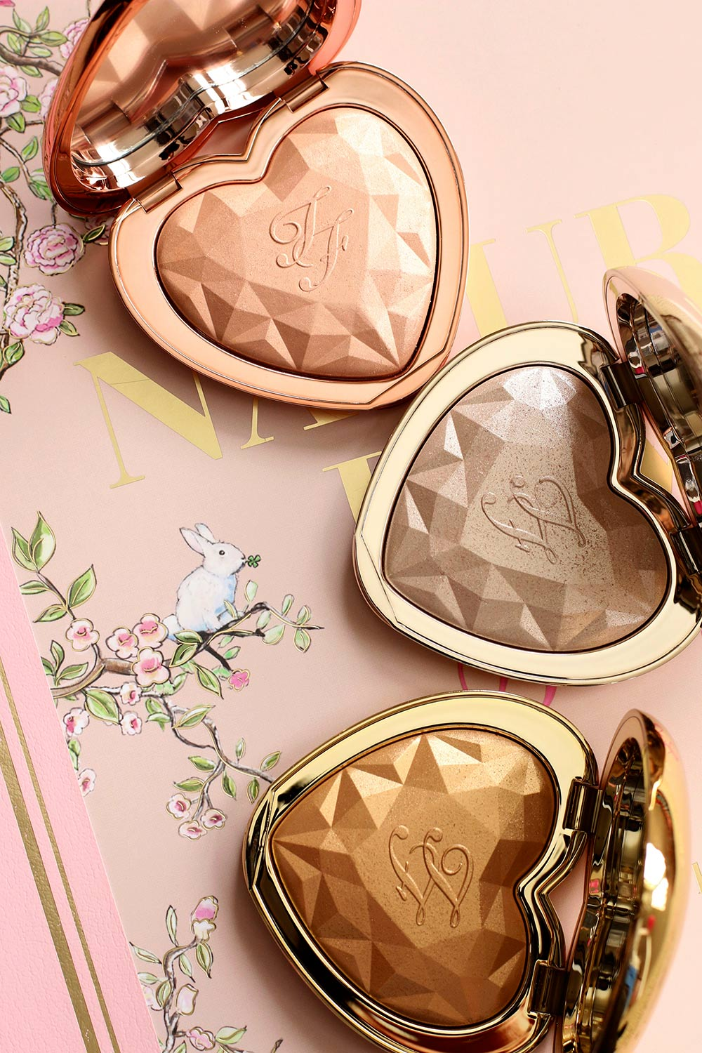 too faced blinded by the light highlighter review