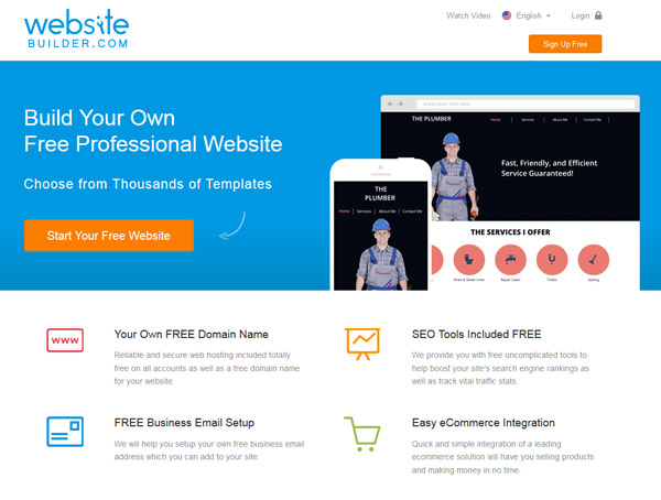 my free website builder review