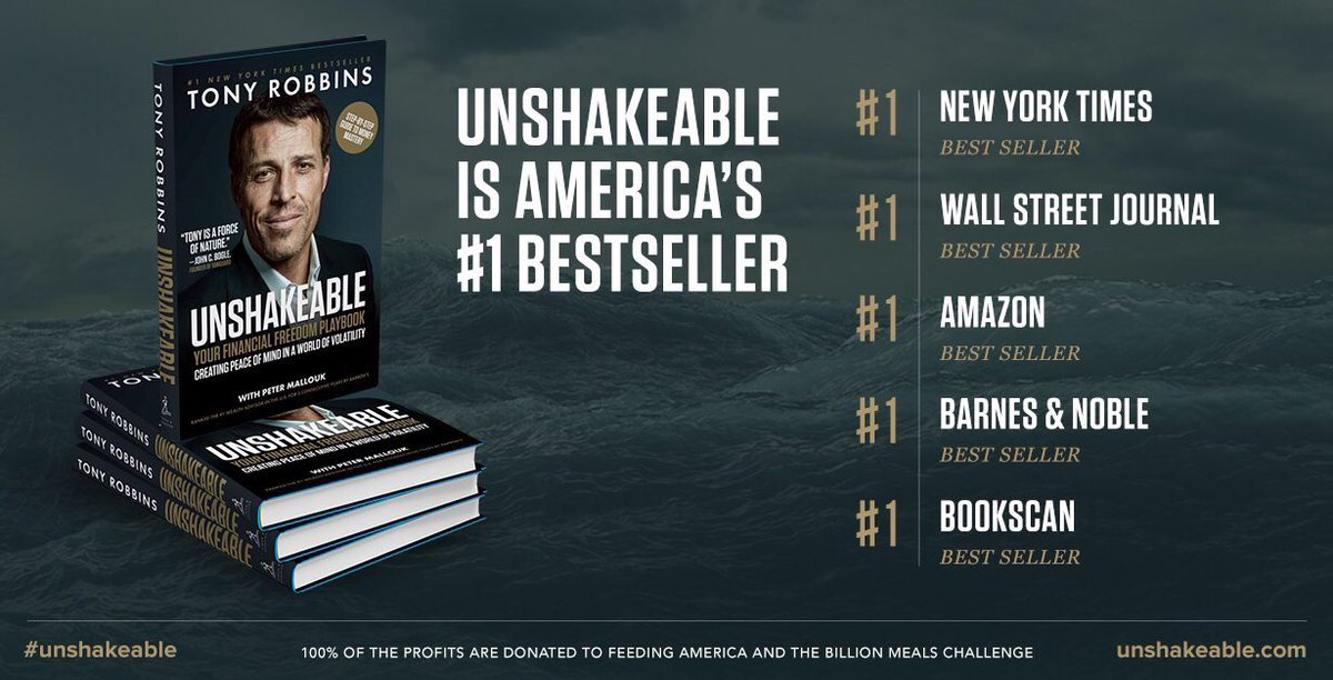 unshakeable tony robbins book review