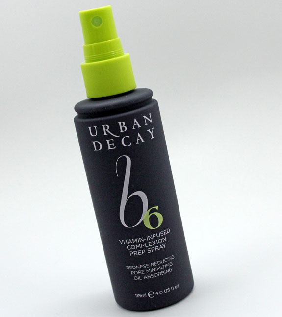 urban decay b6 vitamin infused complexion prep spray review