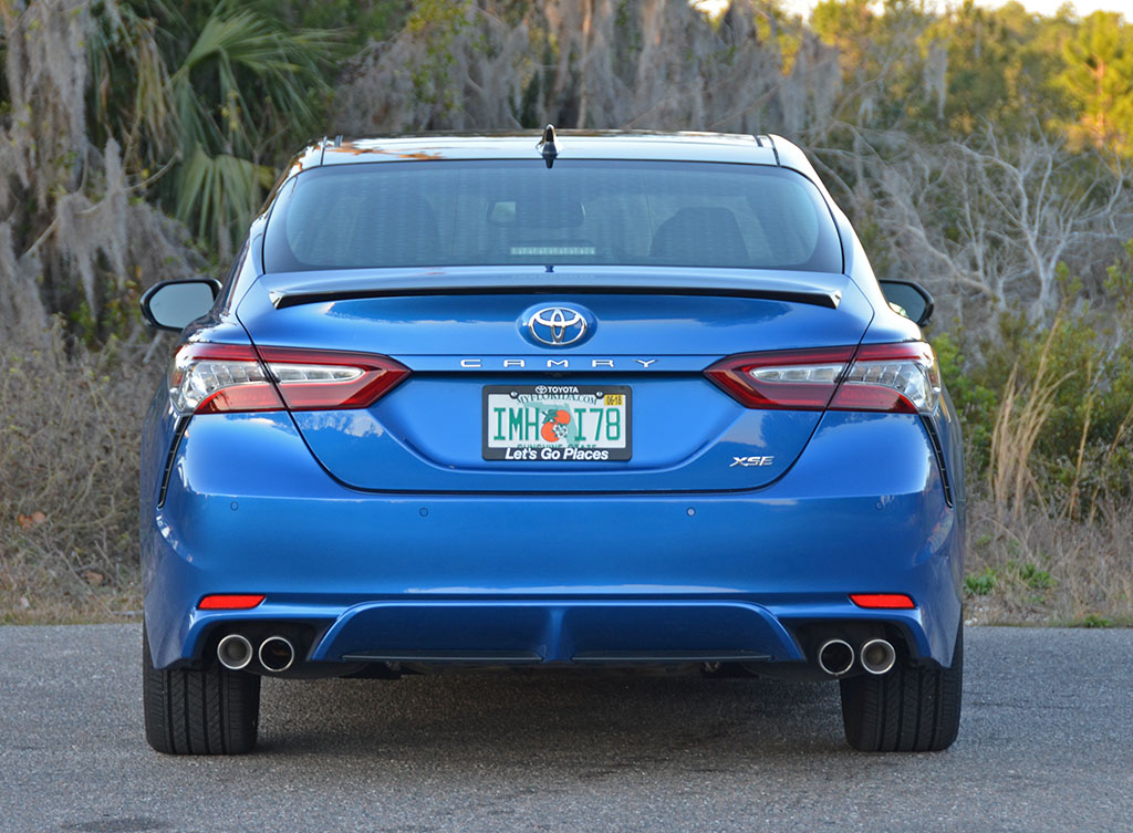 toyota camry 2018 xse v6 review