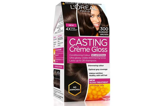 loreal casting hair colour review
