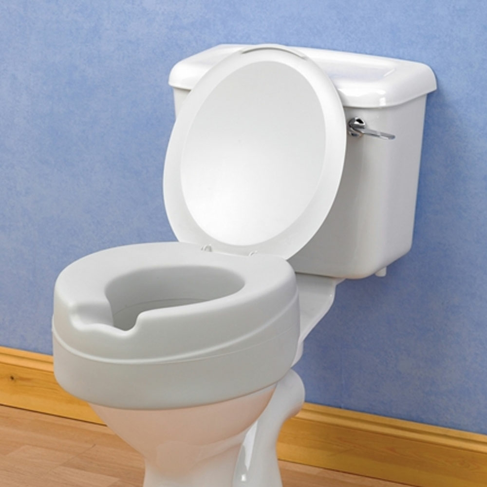 raised toilet seat with lid reviews