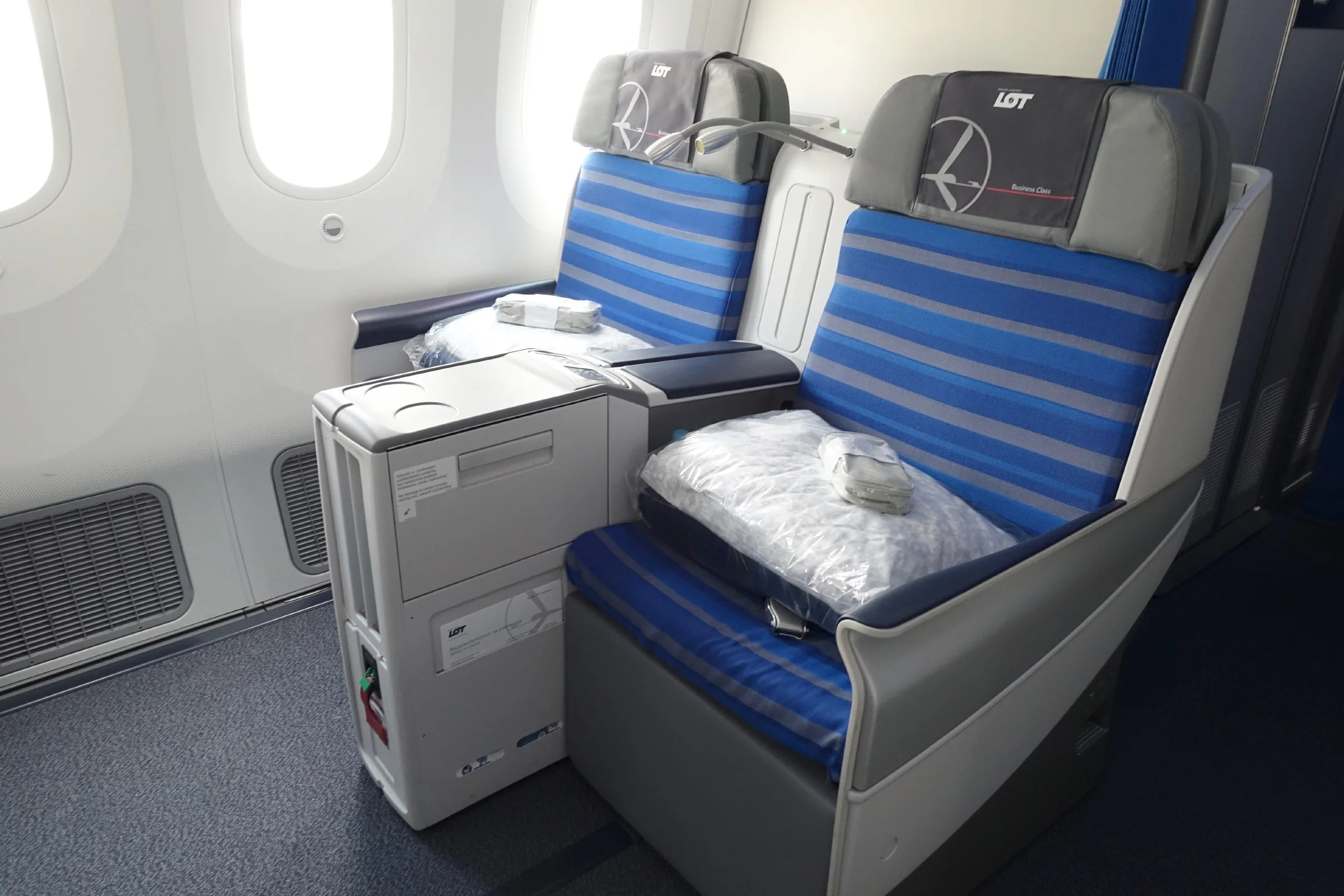 lot 787 business class review