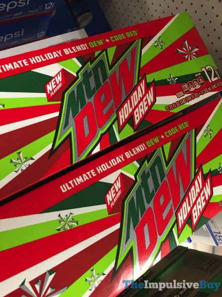 mountain dew holiday brew review