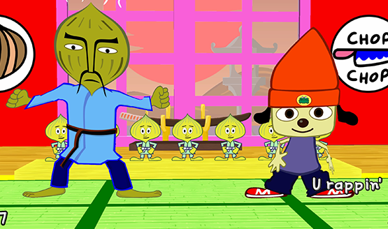 parappa the rapper psp review