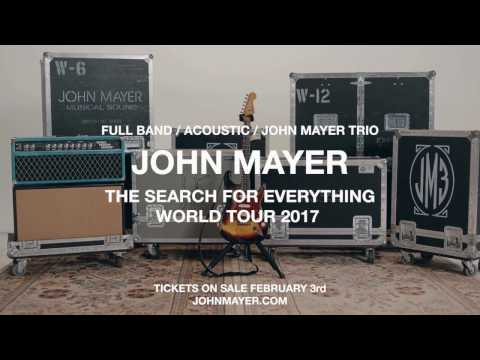 john mayer the search for everything tour review