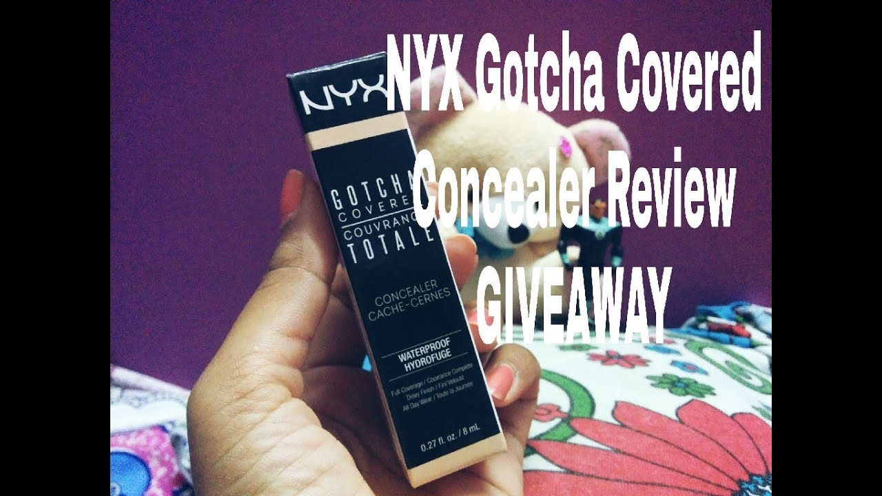 nyx gotcha covered concealer review