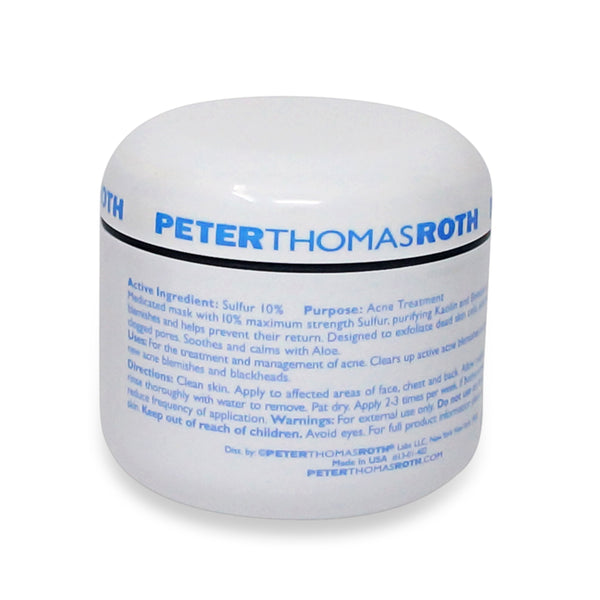 peter thomas roth sulfur mask review