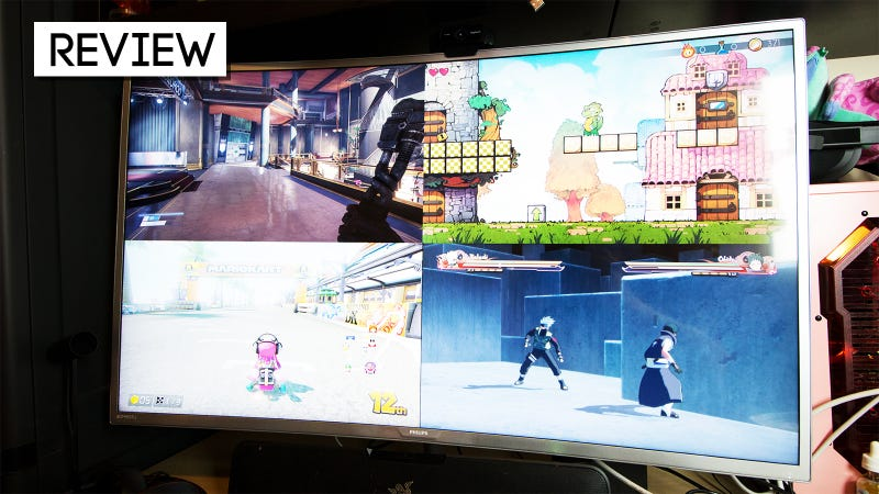 philips 40 inch 4k monitor review