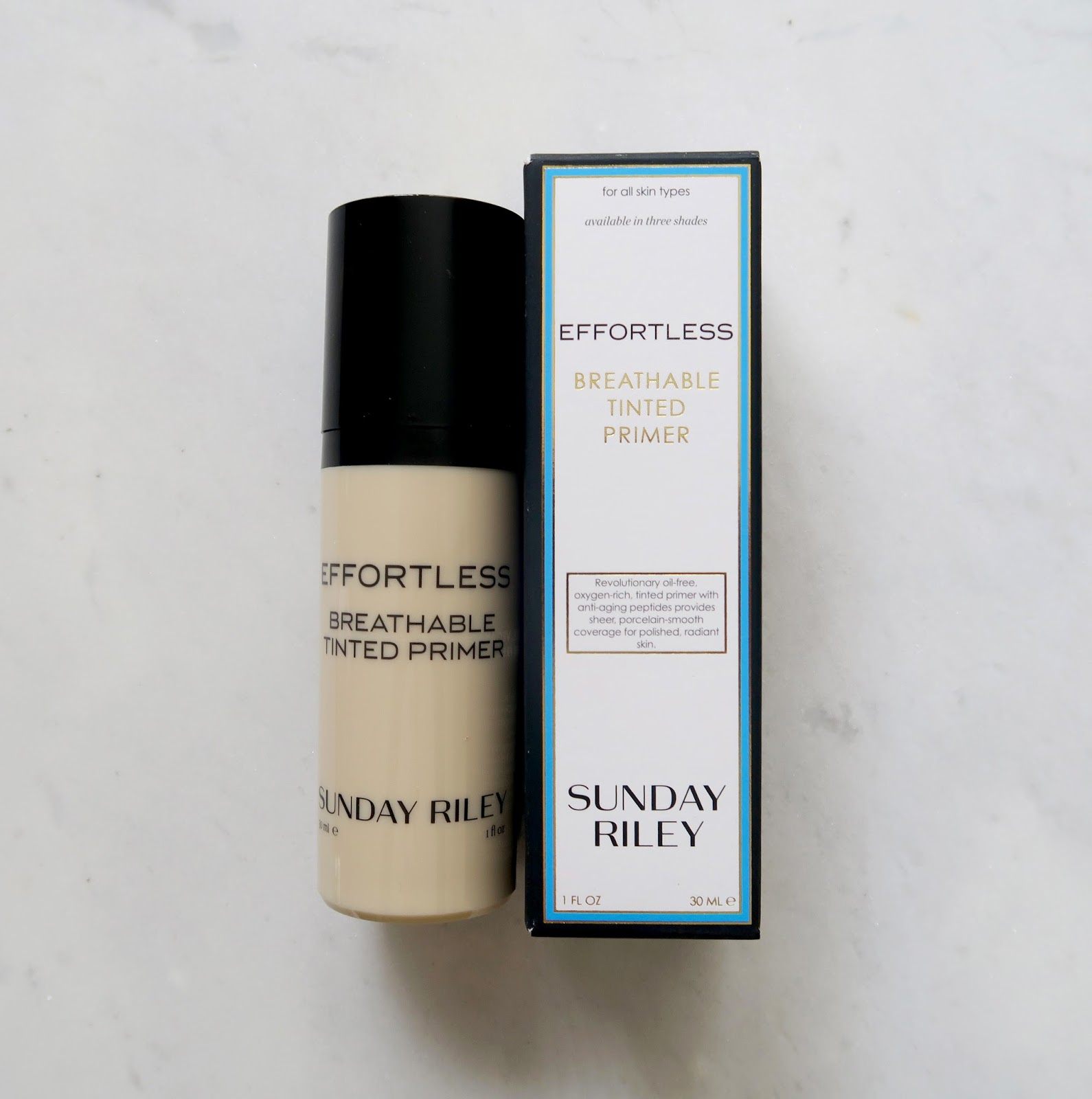 sunday riley breathable tinted primer review