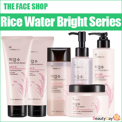 the face shop rice water bright cleansing milk review
