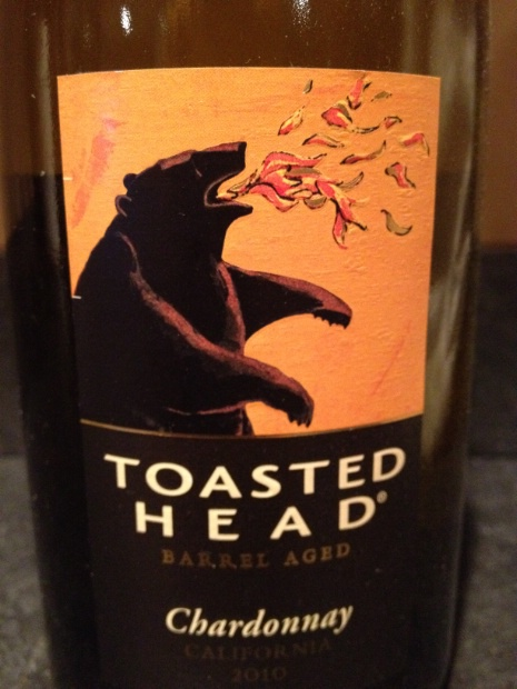 toasted head chardonnay 2015 review